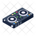 Dj Mixer Audio Mixer Dj Equipment Icon