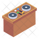 Dj Table Mixing Table Equalizer Table Icon