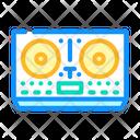 Dj Equipment Color Icon
