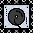 Dj Mixer Dj Vinyl Icon