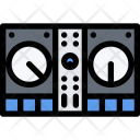 Dj Mixer Music Icon