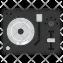 Dj Edm Turntable Icon