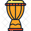 Djembe African Drum Drum Icon