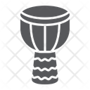 Djembe Music Instrument Icon