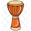 Djembe Tabla African Drum Icon
