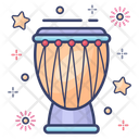 Djembe Music Instrument Membranophone Icon