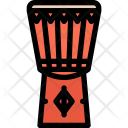 Djembe Drum Music Icon