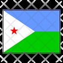 Djibouti Flag Flags Icon