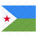 Djibouti Country National Icon