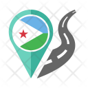Djibouti Flag Icon