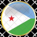 Djibouti Djiboutian Dji Icon