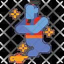 Djinn Genie Djinn Fantasy Icon