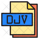 Djv File Format Type Icon