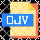 Djv File Format Type Icon