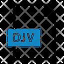 Djv File Type File Format Icon