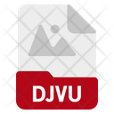 Djvu file Icon