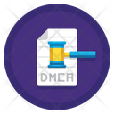 Dmca File Notice Law Book Action Icon