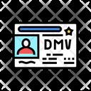 Dmv License Icon
