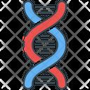 Dna Chromosome Genetic Icon