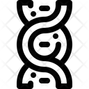 Dna Blood Molecule Icon