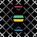 Dna Molecule Genetics Icon