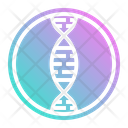 Dna Genetic Science Icon