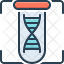 Dna Biology Chromosome Icon