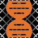 Dna Helix Molecule Icon