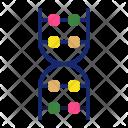 Dna Molecule Biology Icon