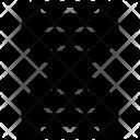 Dna Strand Helix Icon