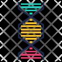 Dna Genetics Science Icon