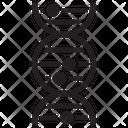 Genes Dna Deoxyribonucleic Icon