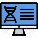 Dna Analysis Law Icon