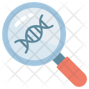 DNA Magnifier Icon