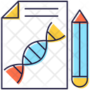 Dna Report Icon