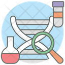 Dna Research Chromosome Dna Icon