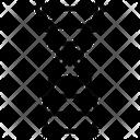 Dna Structure Dna Gene Icon