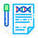Dna Test Report Icon
