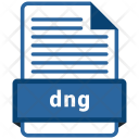 Dng File Formats Icon