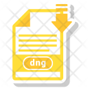 Dng File Format Icon