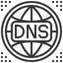 Dns Domain Name Icon