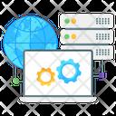 Domain Management Domain Settings Dns Management Icon