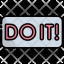 Do It Click Button Icon
