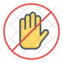 Do Not Disturb Stop Restriction Icon