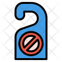 Door Hanger Label Icon