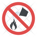Do Not Extinguish With Water Icon