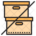 Do Not Stack No Package No Boxes Icon