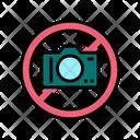 No Photo Crossed Icon