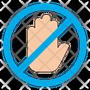 Deny Do Not Dont Icon