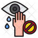 Eye Covid Coronavirus Icon